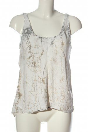 7 For All Mankind Blouse Top white-brown casual look