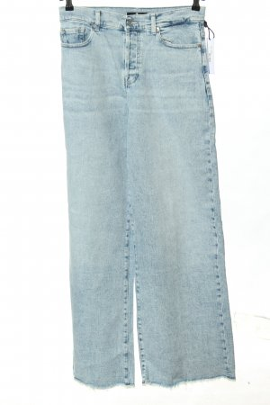 """7 For All Mankind Baggy jeans """"Zoey"""" blauw"""
