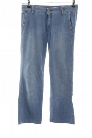 7 For All Mankind Baggyjeans blau Casual-Look