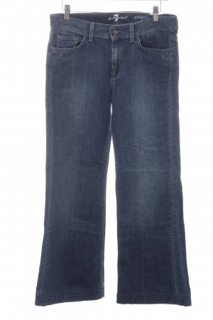 """7 For All Mankind Baggy jeans """"ginger"""" blauw"""