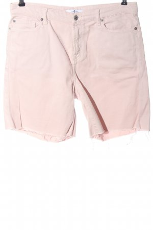 7 For All Mankind Bermudas pink casual look