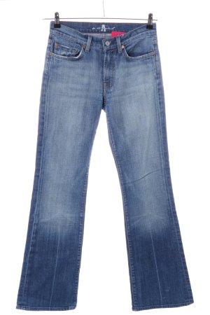 7 For All Mankind Boot Cut spijkerbroek blauw casual uitstraling