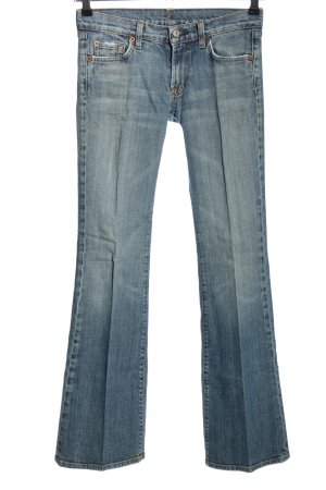 7 For All Mankind Boot Cut Jeans blau Casual-Look