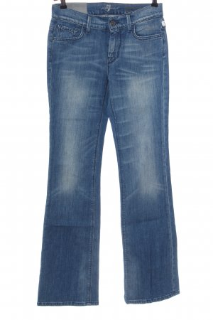 7 For All Mankind Jeansy o kroju boot cut niebieski W stylu casual