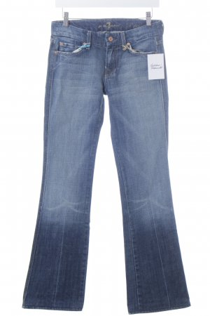 "7 For All Mankind Boot Cut Jeans ""A pocket"" dark blue"