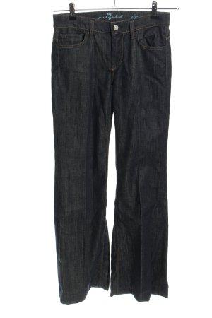 7 For All Mankind Jeansy o kroju boot cut czarny Melanżowy W stylu casual