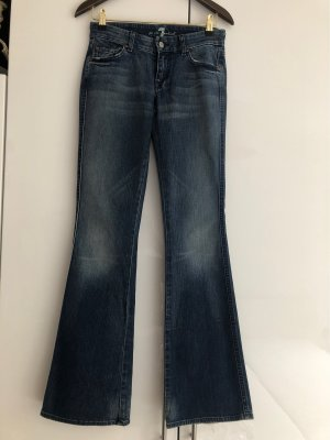 7 For All Mankind Boot Cut Jeans multicolored