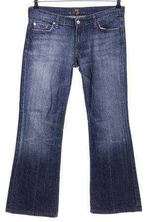 7 For All Mankind Jeans bootcut bleu style décontracté