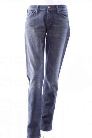 7 For All Mankind Boot Cut Jeans dunkelblau