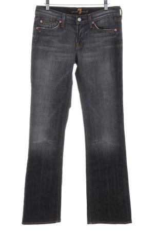 7 For All Mankind Boot Cut spijkerbroek grijs casual uitstraling