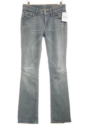 7 For All Mankind Jeans svasati azzurro stile casual