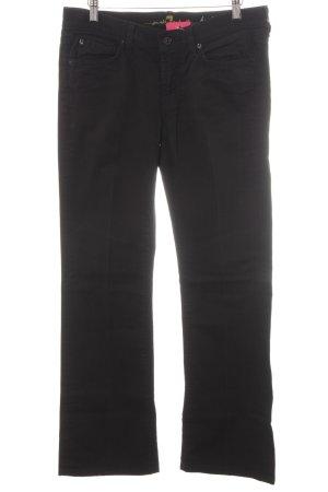 7 For All Mankind Boot Cut Jeans schwarz schlichter Stil
