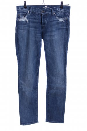 7 For All Mankind Boyfriend jeans blauw casual uitstraling