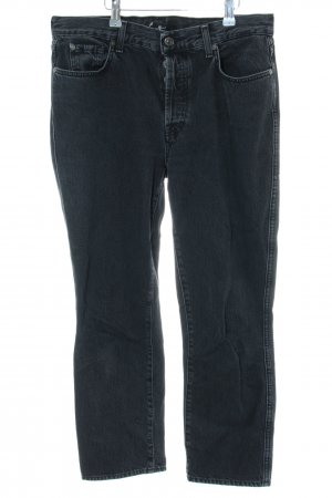 7 For All Mankind Jeans boyfriend noir style mode des rues