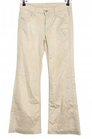 7 For All Mankind Cordhose wollweiß Casual-Look