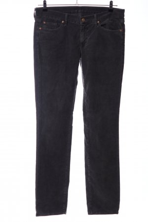 7 For All Mankind Cordhose hellgrau Casual-Look