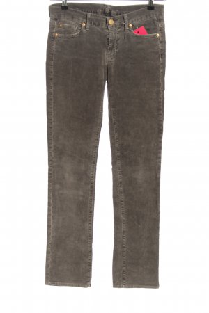 7 For All Mankind Cordhose braun Casual-Look