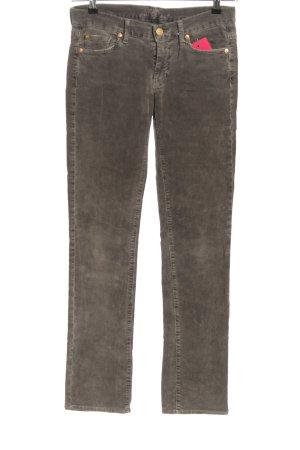 7 For All Mankind Spodnie sztruksowe brązowy W stylu casual