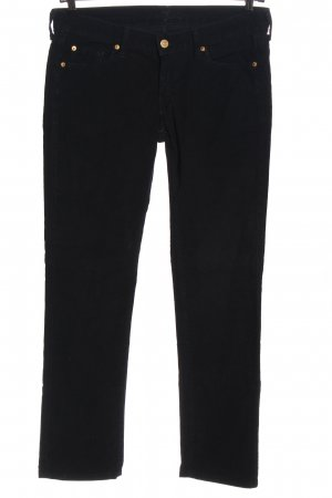 7 For All Mankind Cordhose schwarz Casual-Look