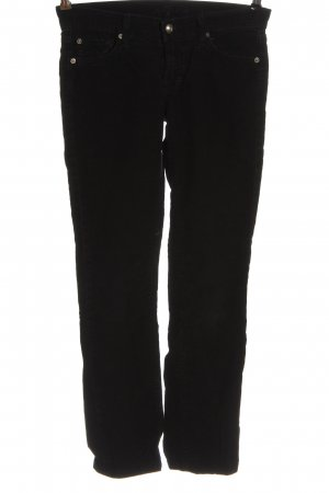 7 For All Mankind Corduroy Trousers black casual look