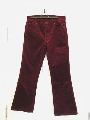 7 For All Mankind Pantalone di velluto a coste multicolore