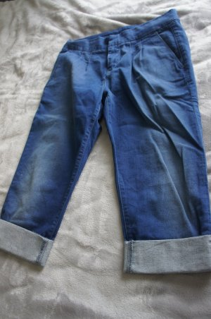 7 For All Mankind Capris blue