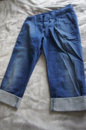 7 For All Mankind Spodnie Capri niebieski