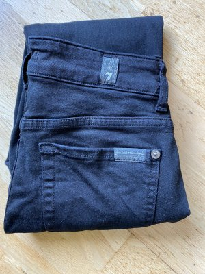 7 For All Mankind Jeans cigarette noir