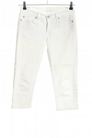 7 For All Mankind Five-Pocket-Hose weiß Casual-Look