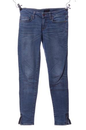 7 For All Mankind Pantalón de cinco bolsillos azul look casual