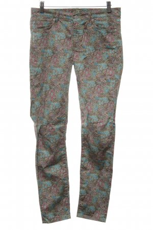 7 For All Mankind Five-Pocket Trousers allover print casual look