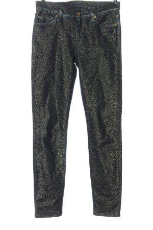 7 For All Mankind Pantalone cinque tasche nero stile casual