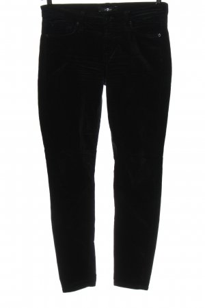 7 For All Mankind Five-Pocket Trousers black casual look