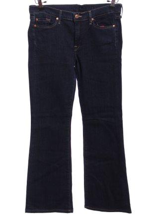 7 For All Mankind Spodnie z pięcioma kieszeniami niebieski W stylu casual