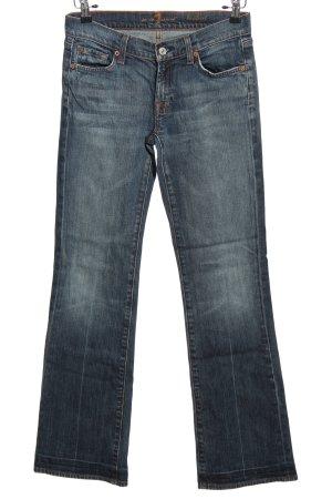 7 For All Mankind Spodnie z pięcioma kieszeniami czarny W stylu casual