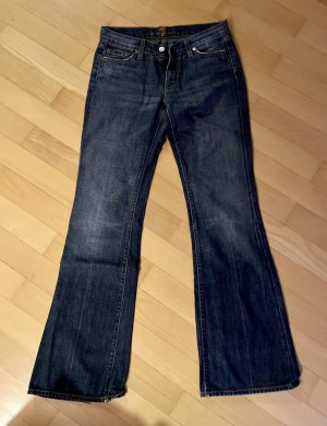 7 For All Mankind Jeans bootcut bleu