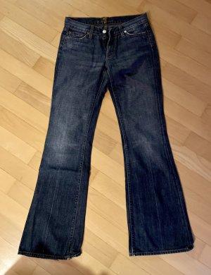 7 For All Mankind Jeansy o kroju boot cut niebieski