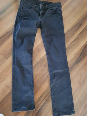 7 For All Mankind Low Rise Jeans black