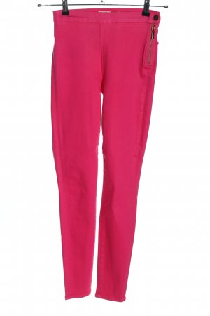7 For All Mankind High-Waist Hose pink Casual-Look