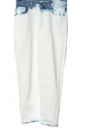 7 For All Mankind High Waist Jeans white-blue casual look