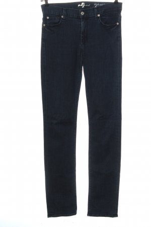 7 For All Mankind Hoge taille jeans blauw casual uitstraling