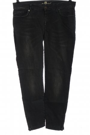 7 For All Mankind Hoge taille jeans zwart casual uitstraling
