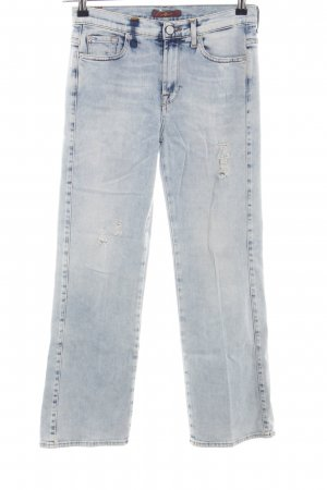 7 For All Mankind High Waist Jeans blau Casual-Look