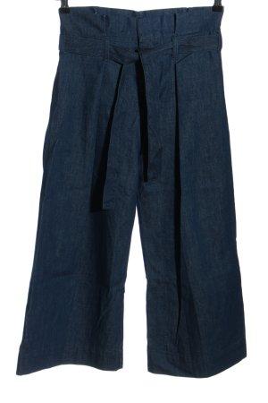 7 For All Mankind Jeansy z wysokim stanem niebieski-ciemnoniebieski Bawełna