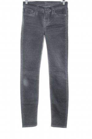 7 For All Mankind Hoge taille jeans grijs casual uitstraling