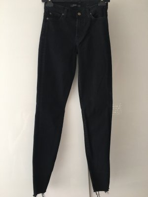 7 For All Mankind Skinny Jeans black