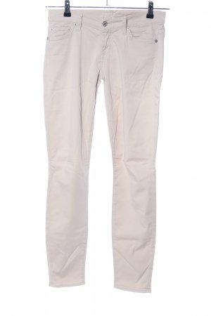 7 For All Mankind Lage taille broek wolwit casual uitstraling