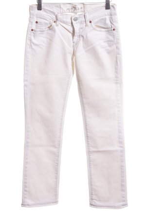 7 For All Mankind Hüfthose weiß Casual-Look