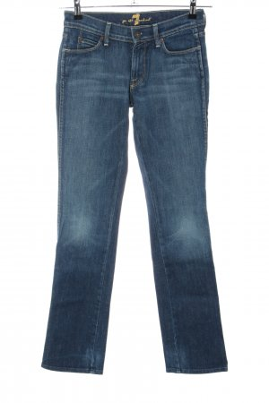7 For All Mankind Hüftjeans blau Casual-Look