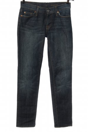 7 For All Mankind Low Rise Jeans blue casual look